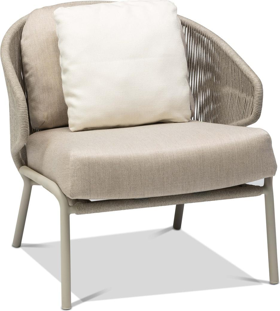 Radius 1 seater - Lounge chair - flint - pepper