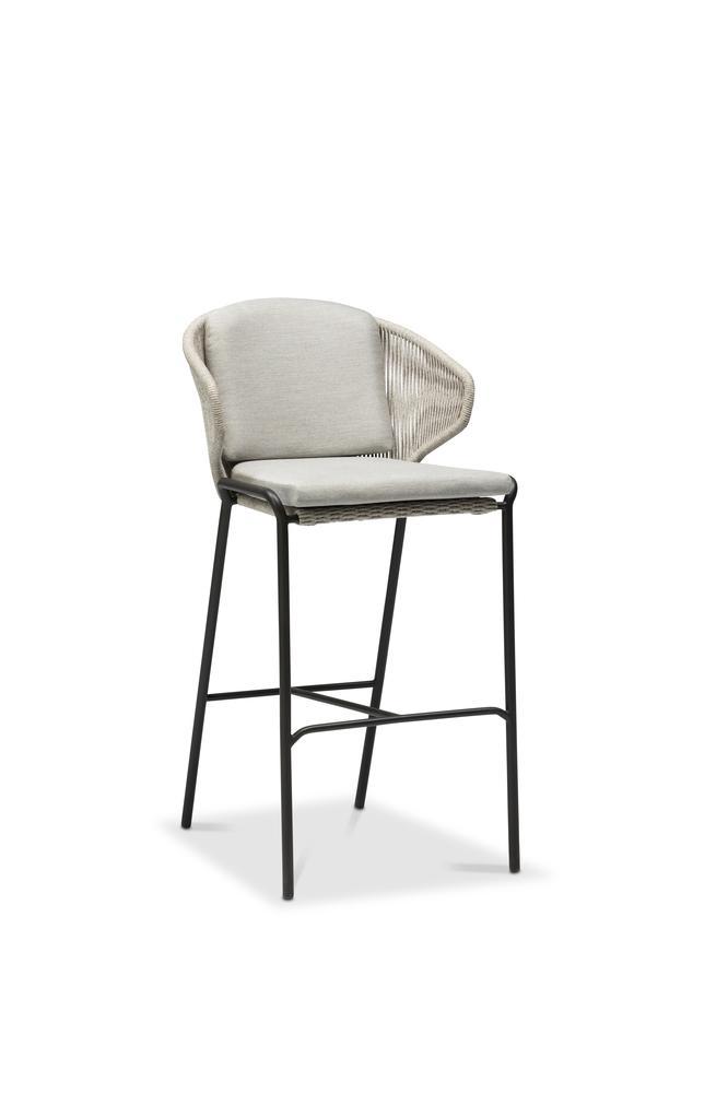 Phenomenal Radius Barstool 79 Rope Lava Silver Manutti Ibusinesslaw Wood Chair Design Ideas Ibusinesslaworg