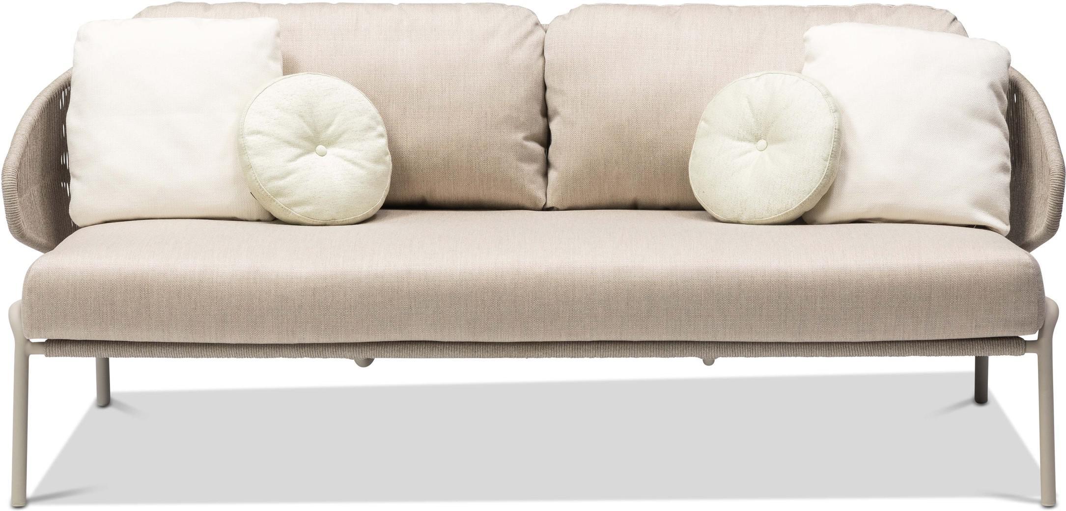 Radius 2,5S - Sofa fixed - flint - pepper