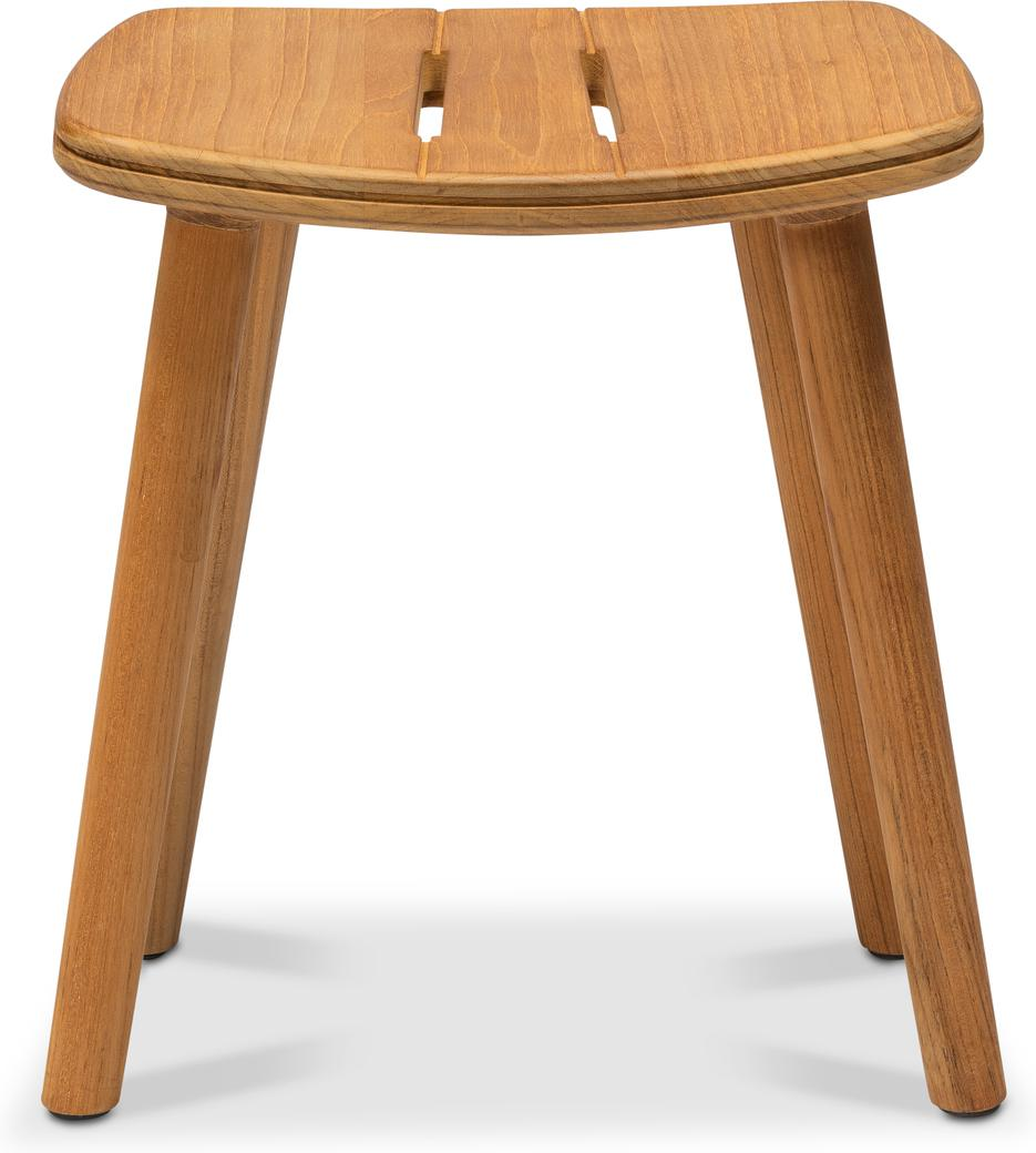 Solid Stool 47  - Teak