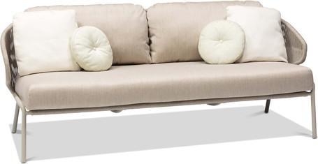2,5S - Sofa fixed - flint - pepper
