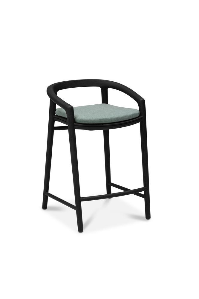 Astounding Outdoor Barstool Solid Teak Nero Manutti Ncnpc Chair Design For Home Ncnpcorg