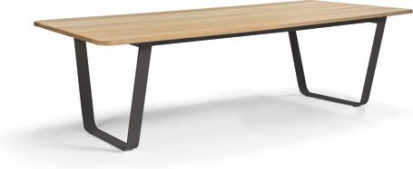 Dining table - lava - Iroko 264