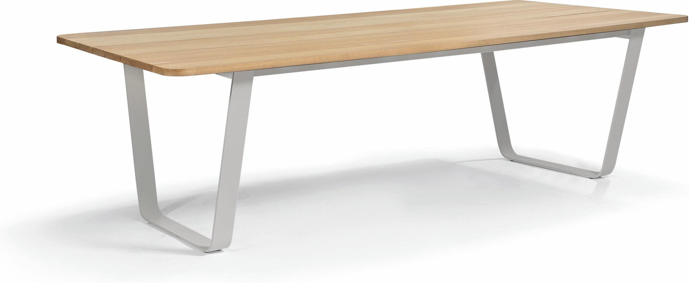 Air Dining table - flint - Iroko 264