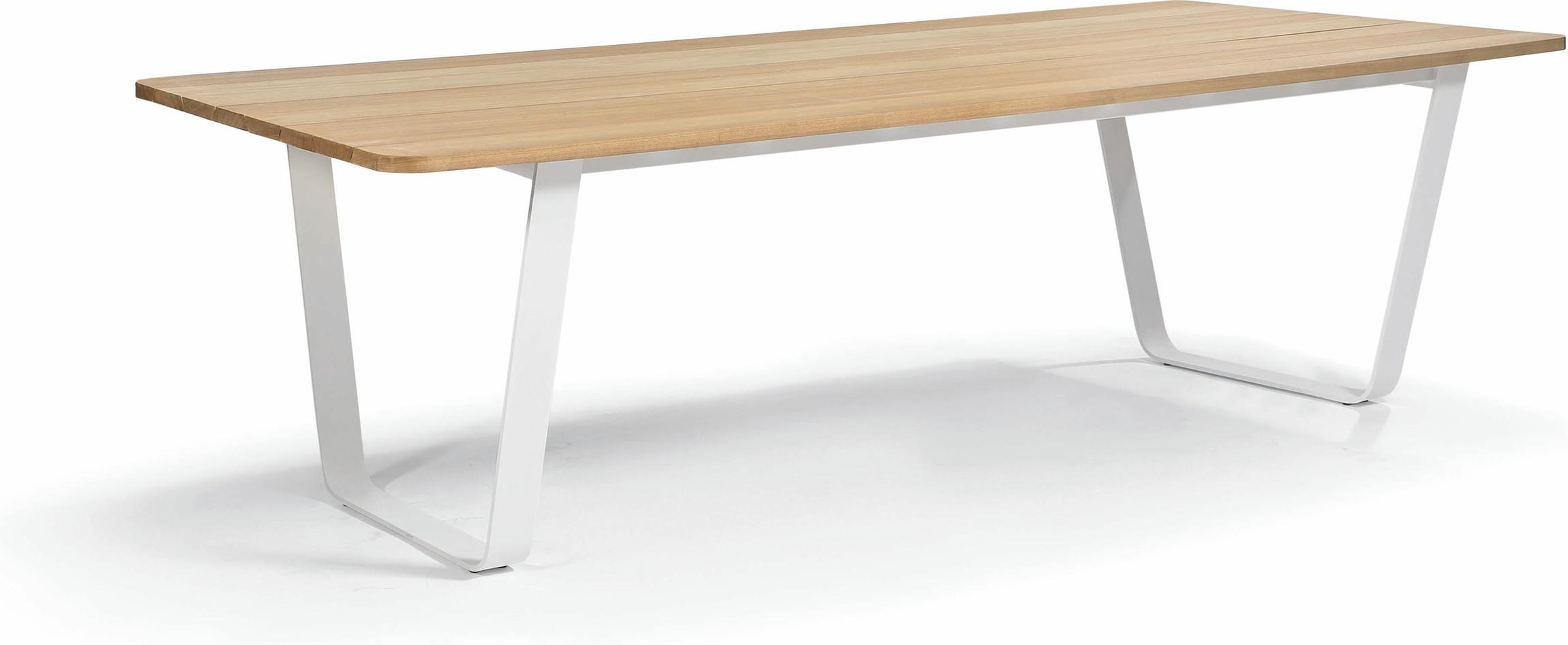 Eettafel Air - wit - Iroko 264