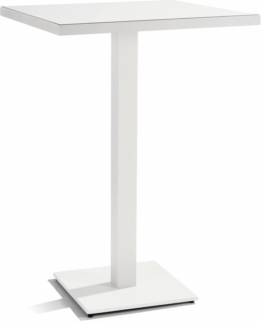 Napoli Bar table - white - white 75