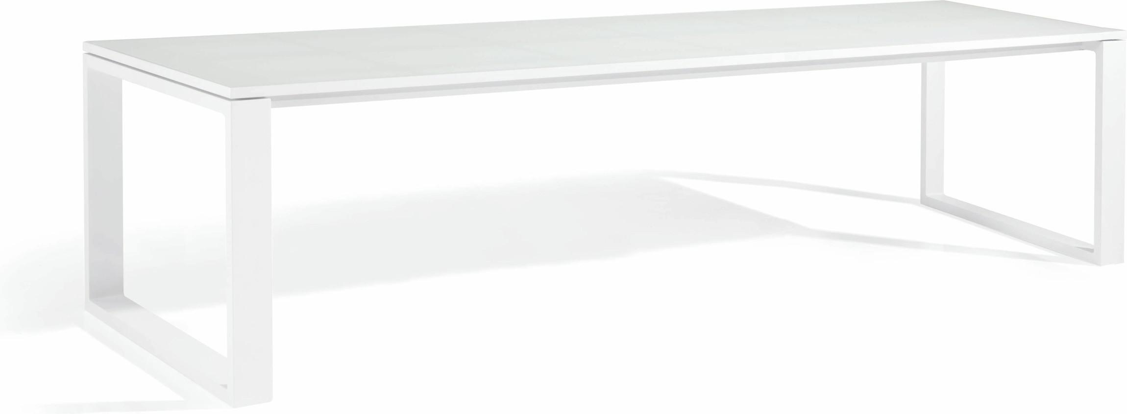 Fuse Dining table - white - GLW 300