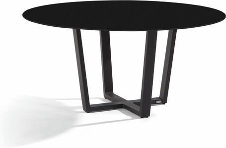 Dining table - lava - black 155