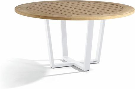 Dining table - white - Teak 155