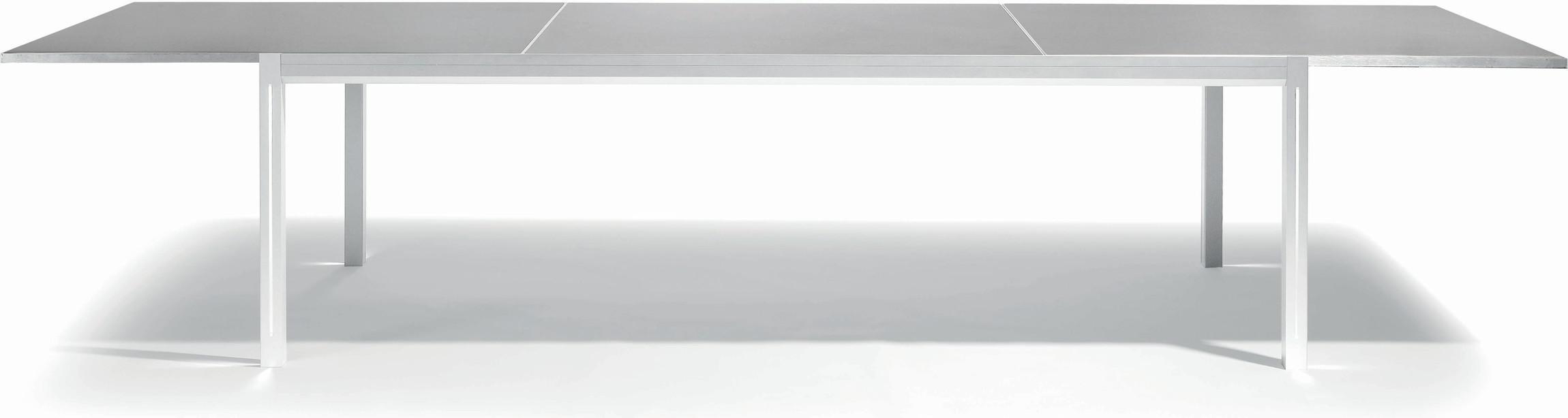 Luna Mesa de comedor - blanco - GLS 360 - LED