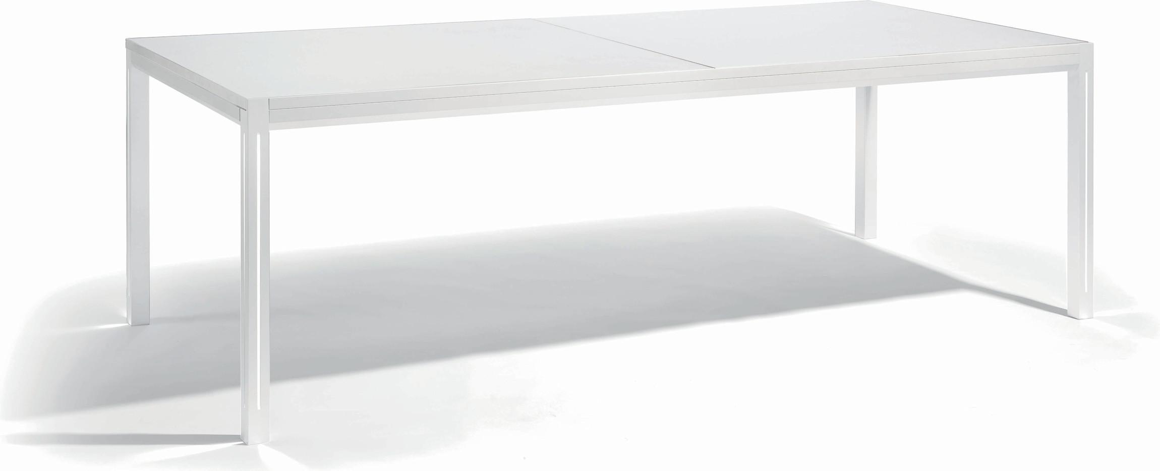 Table à manger Luna - blanc - GLW 360 - LED
