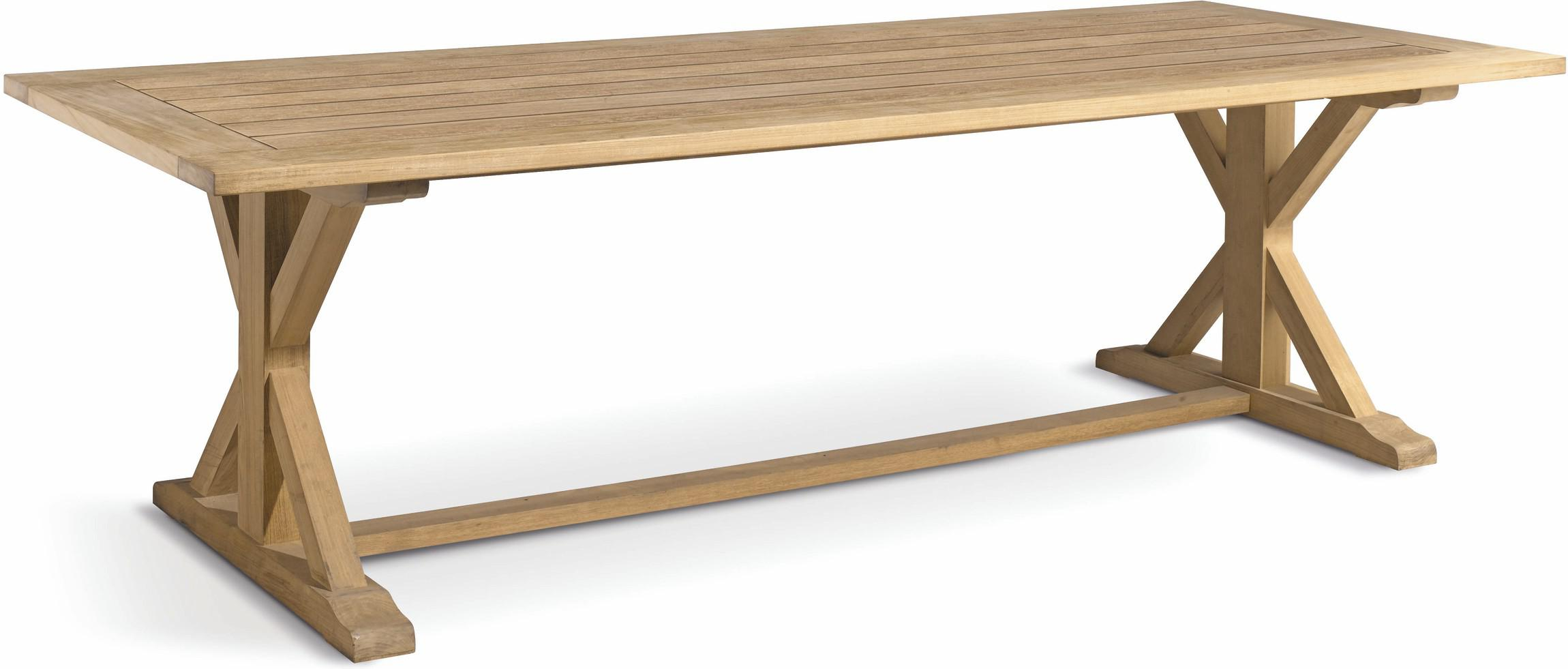 Livorno Dining table - Teak - Teak 400
