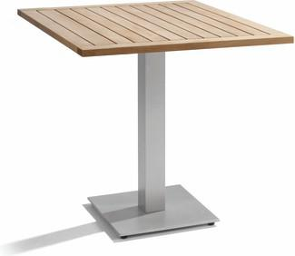 Napoli Bistro table - shingle - Teak 42