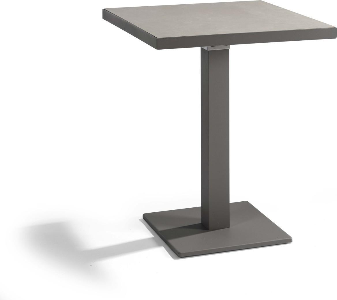 Napoli Bistro table - lava - CQ 60