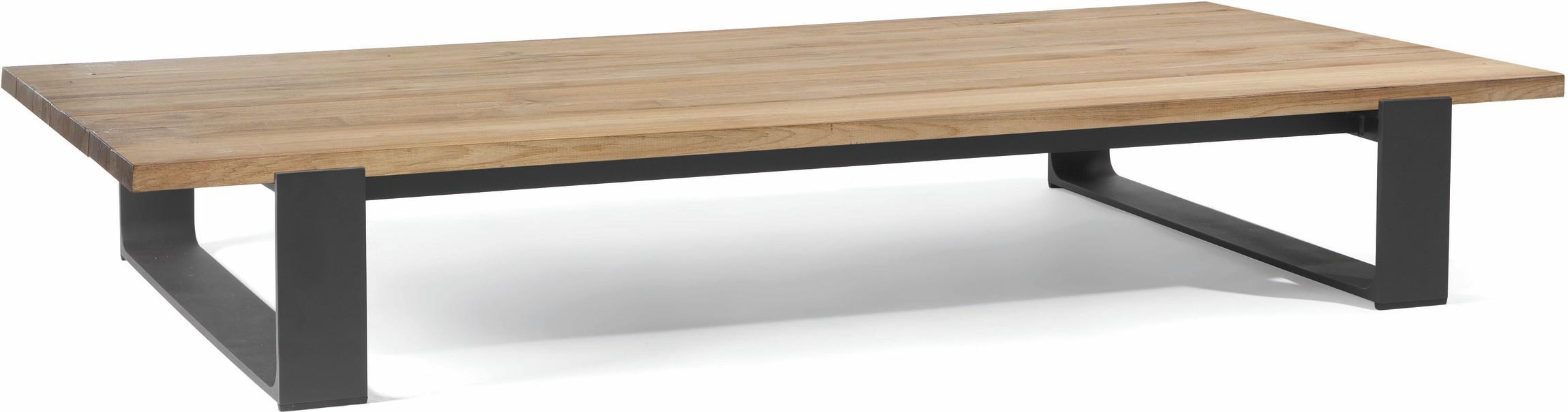 Prato coffee table - lava - Teak 180