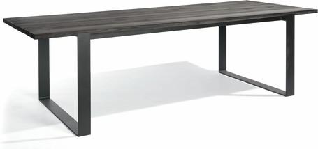 Dining table - lava - Teak nero 270