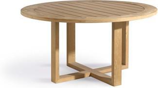 Tavolo da pranzo Siena - teak - teak 180