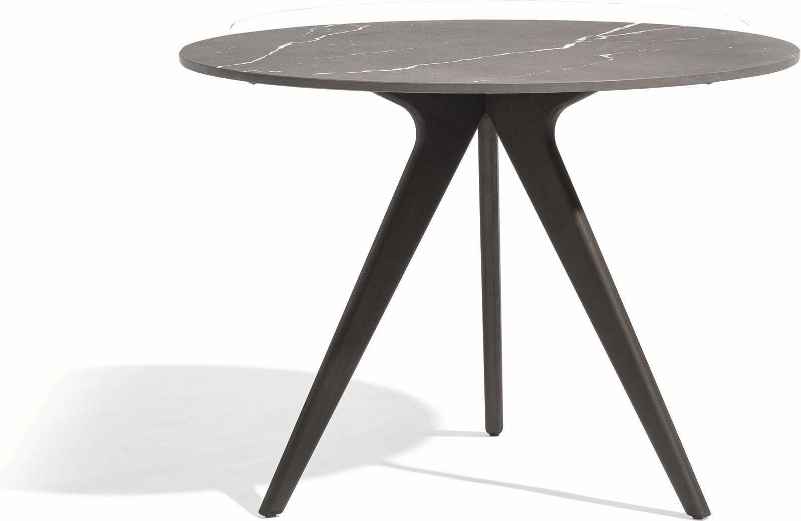 Torsa Dining table - Teak nero - CMB 100