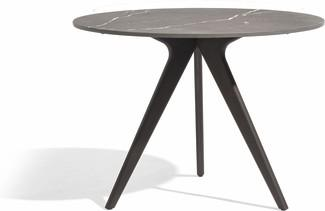 Torsa Dining table - Teak nero - CMB 130