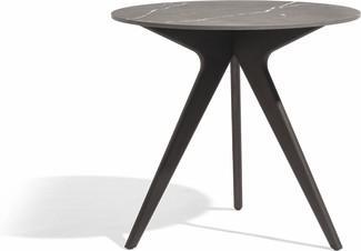 Tavolo da pranzo Torsa - teak nero - CMB 80