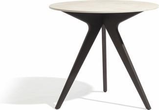 Tavolo da pranzo Torsa - teak nero - CT 80