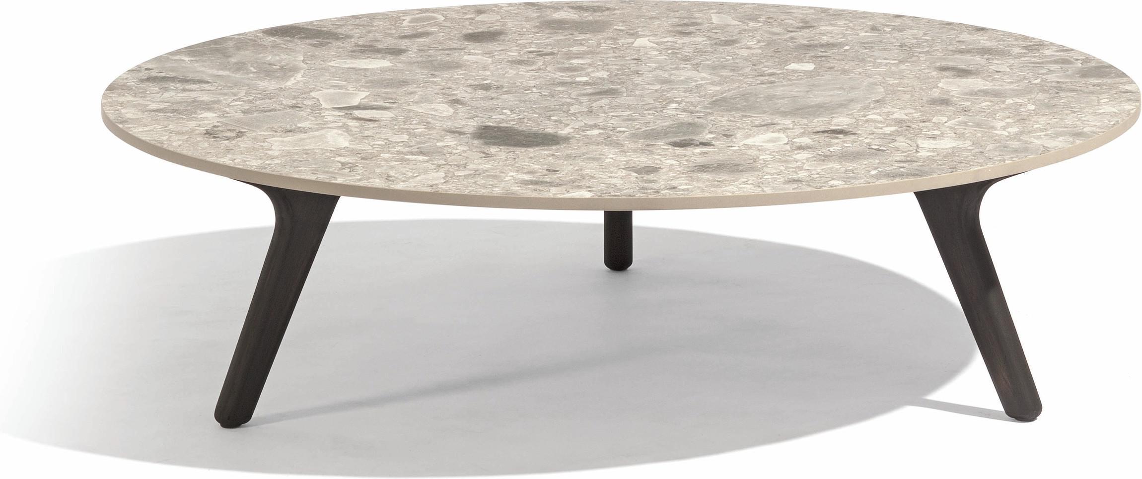 Torsa Low table - Teak nero - CF 90