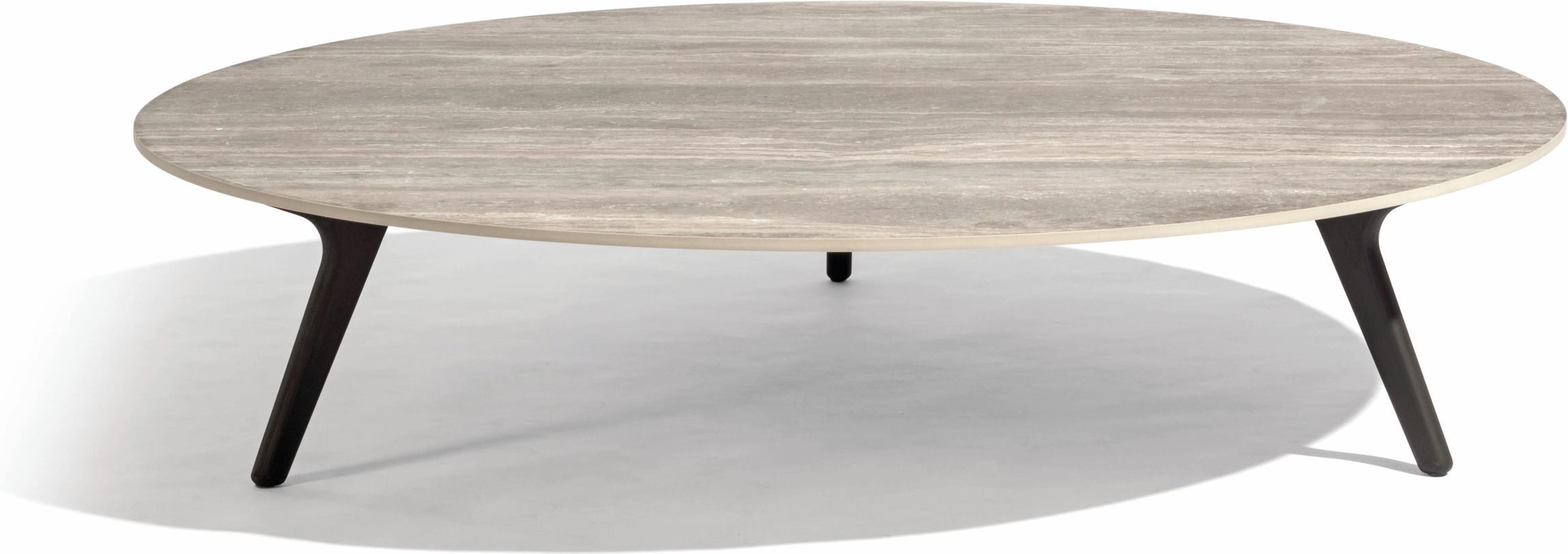 Lage tafel Torsa - Teak nero - CT 148