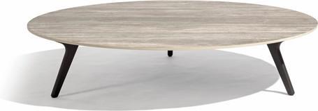 Mesa baja - Teca nero - CT 148
