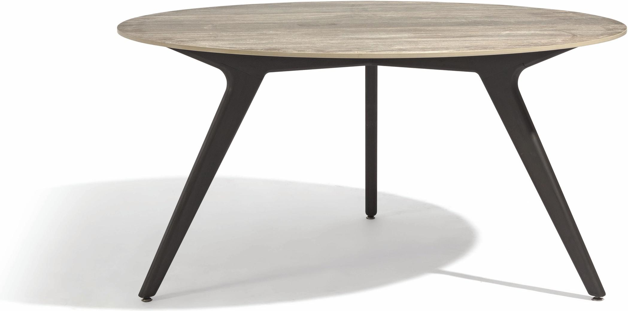 Torsa Dining table - Teak nero - CF 148