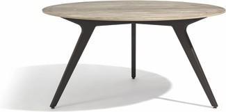 Tavolo da pranzo Torsa - teak nero - CF 148