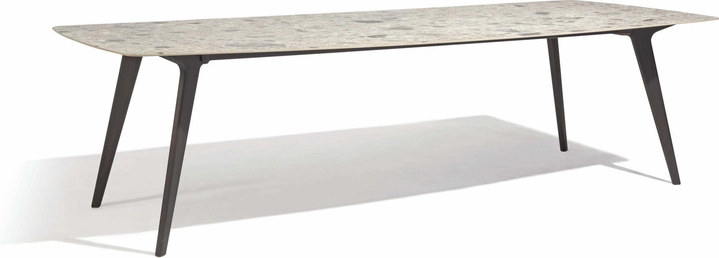 Table à manger Torsa - Teck nero - CF 264