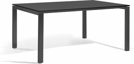 Dining table - glass black GLB 150