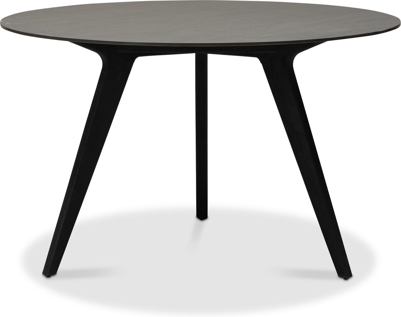 Torsa High dining table - Teak nero - CK 148
