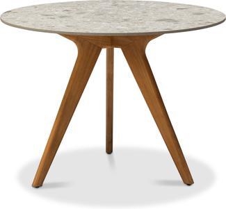 Tavolo da pranzo alto Torsa - teak - CF 100