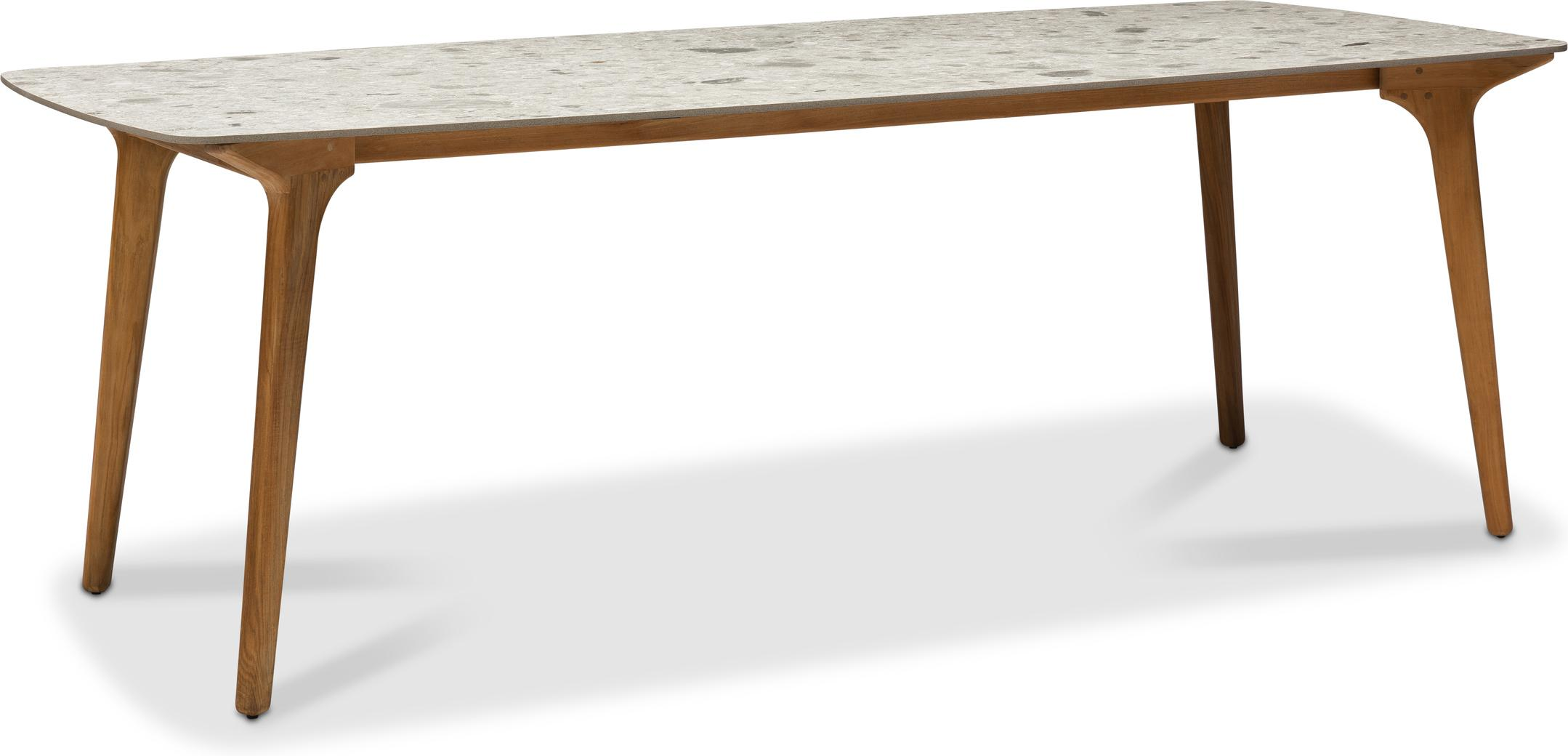Torsa High dining table - Teak - CF 264