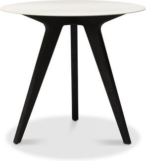 Tavolo da pranzo alto Torsa - teak nero - CC 80