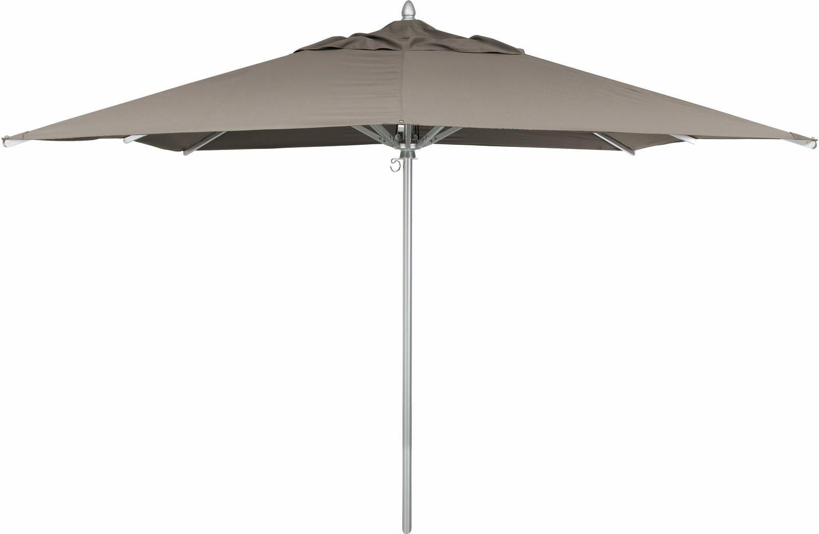 Umbrella - aluminium - 300*300 - taupe