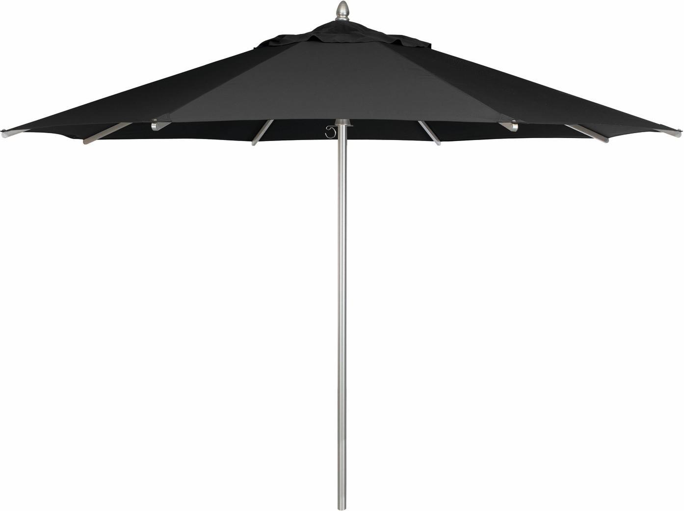 Sombrilla - aluminio - Ø350 - negro