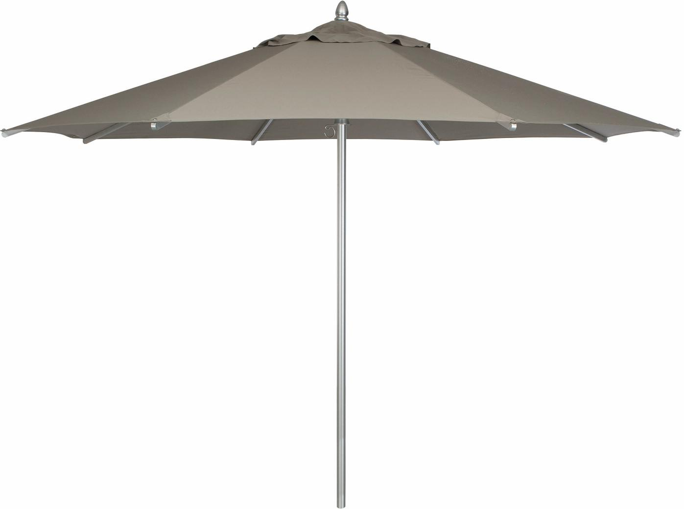 Parasol - aluminium - Ø350 - taupe