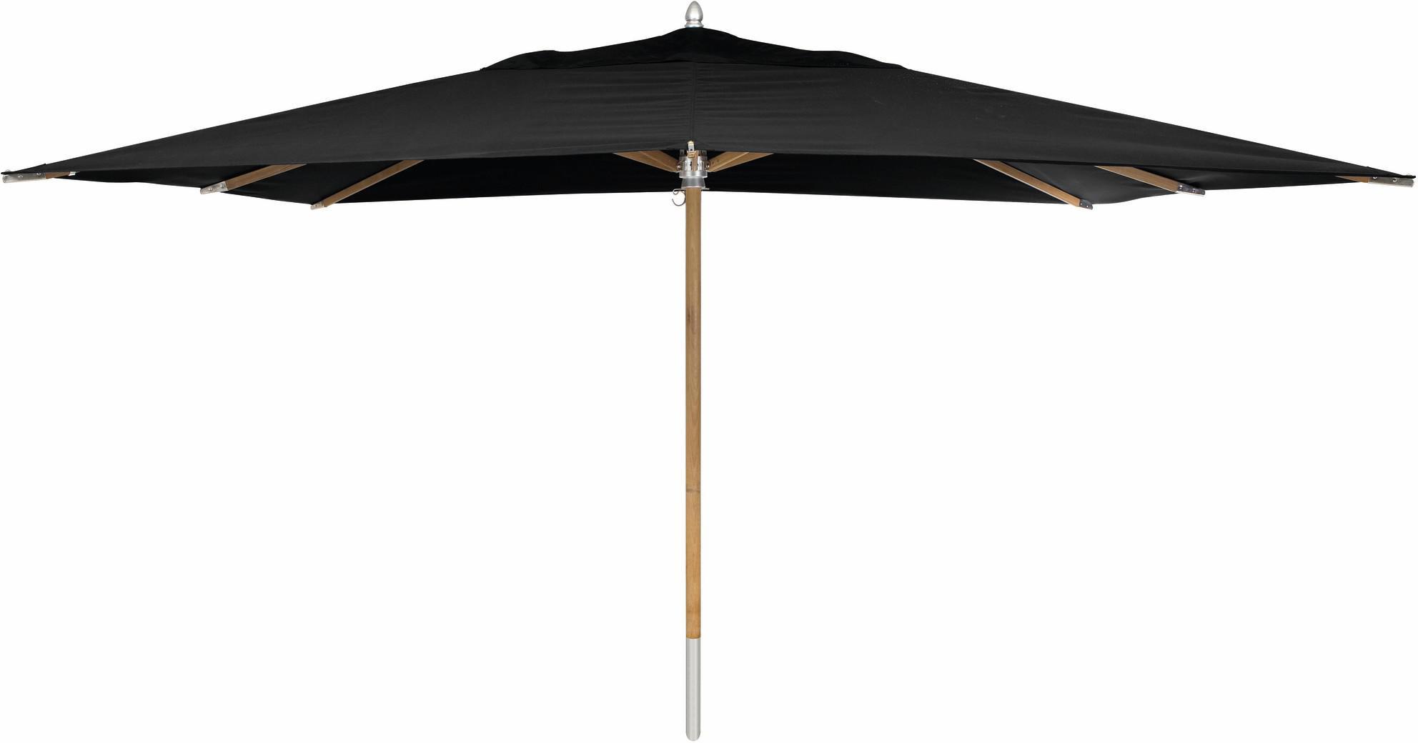 Umbrella central pole teak 300*400 black