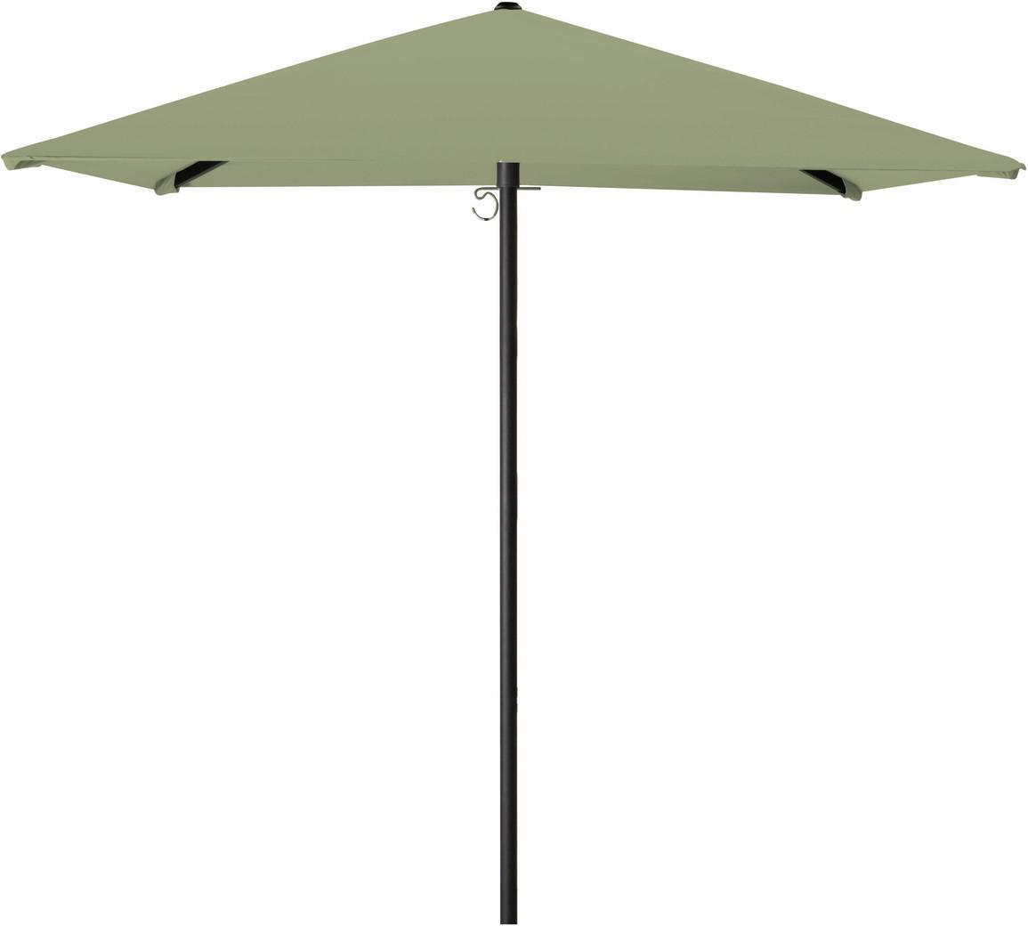 Parasol (petit modèle) - mât central noir - 180x180 AW forest