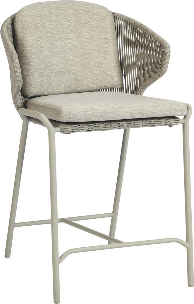 Radius Barstool 60  rope - flint - pepper
