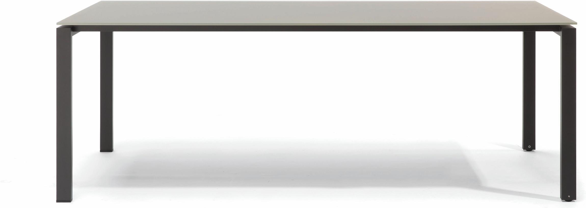 Table à manger Trento - céramique perle 6mm EL 212,5