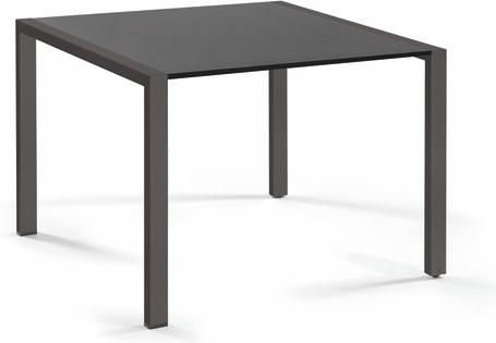 Dining table - glass black GLB 90