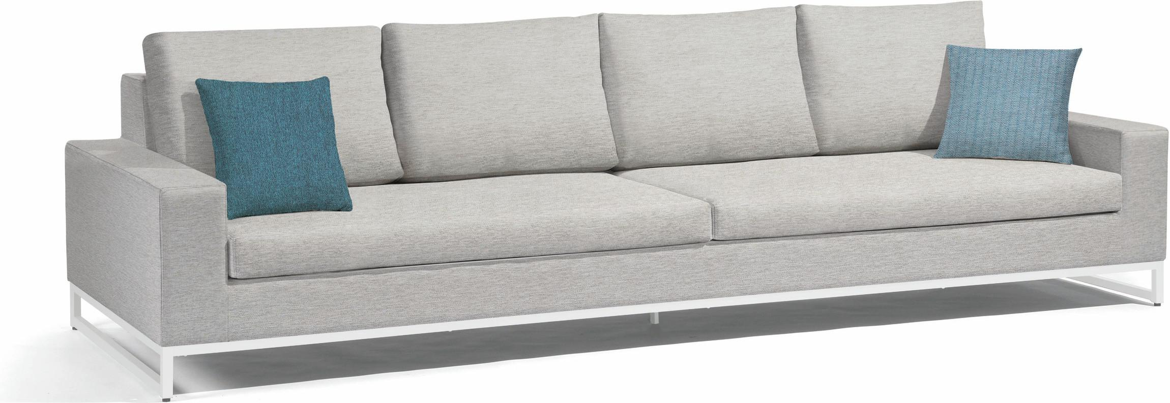 Zendo Sofa fixed - Lotus Smokey 290