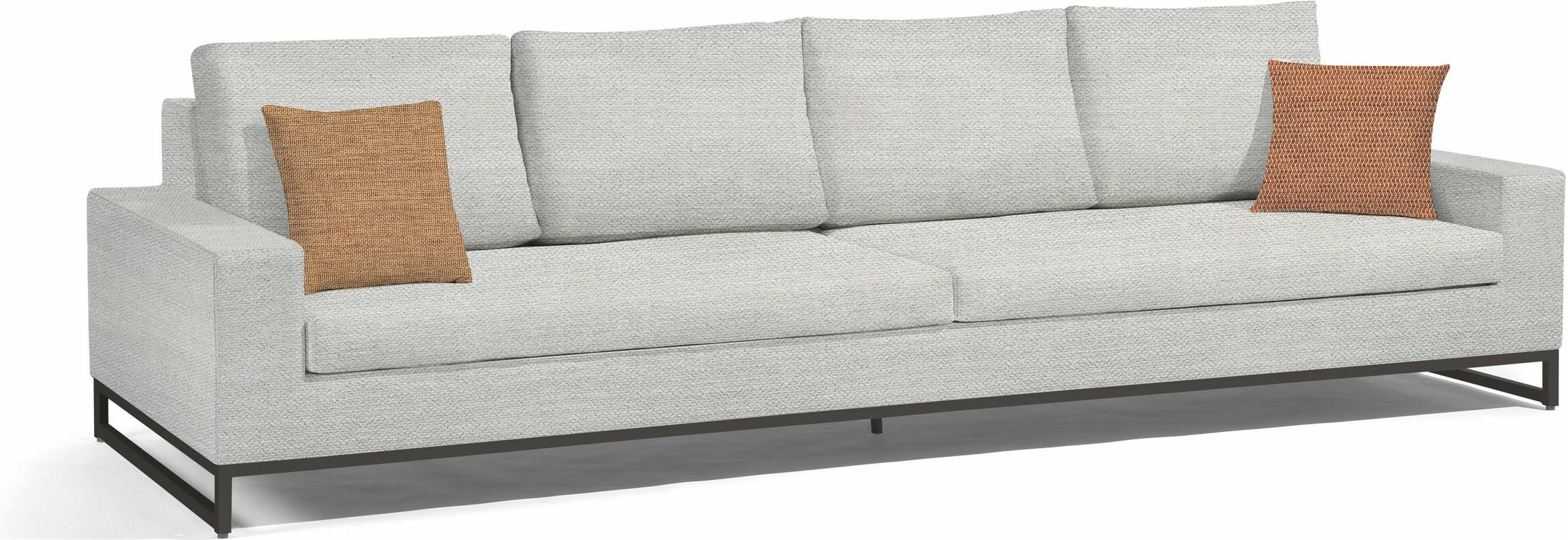 Zendo Sofa fixed - Lotus Smokey 290