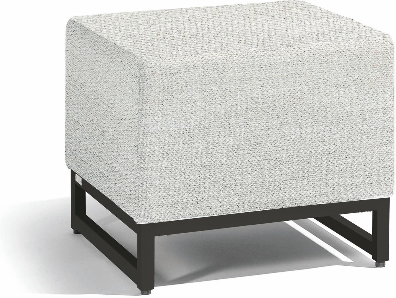 Zendo small footstool seat - lava - lotus smokey