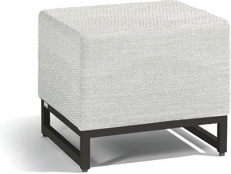 small footstool seat - lava - lotus smokey