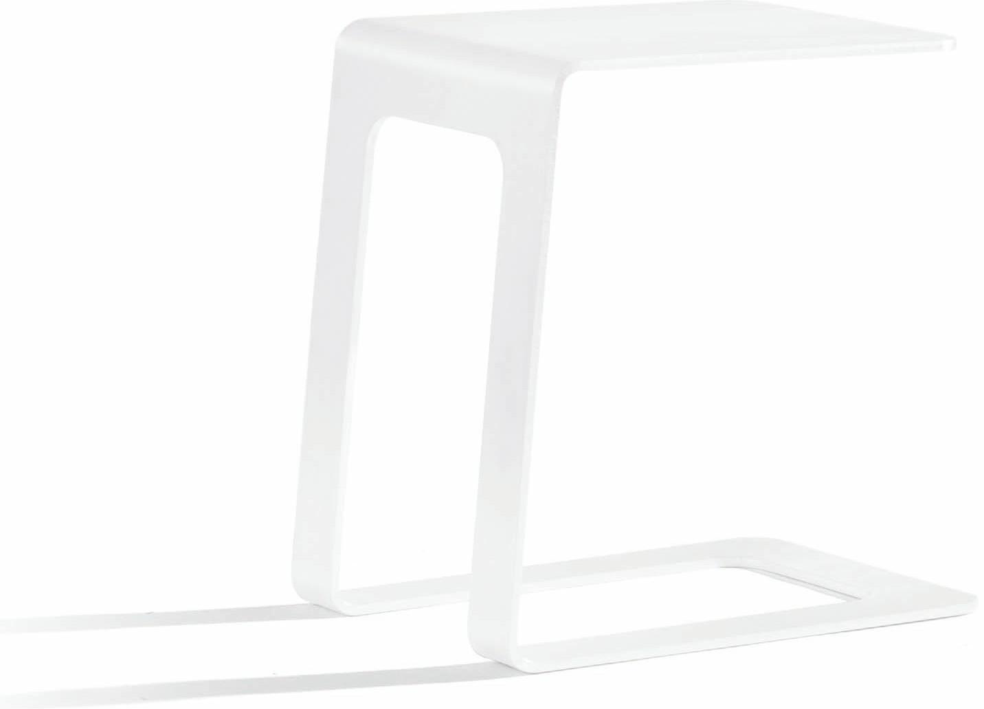 Outdoor sidetable - white - open 32
