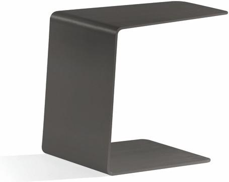 Outdoor sidetable - lava - closed 36